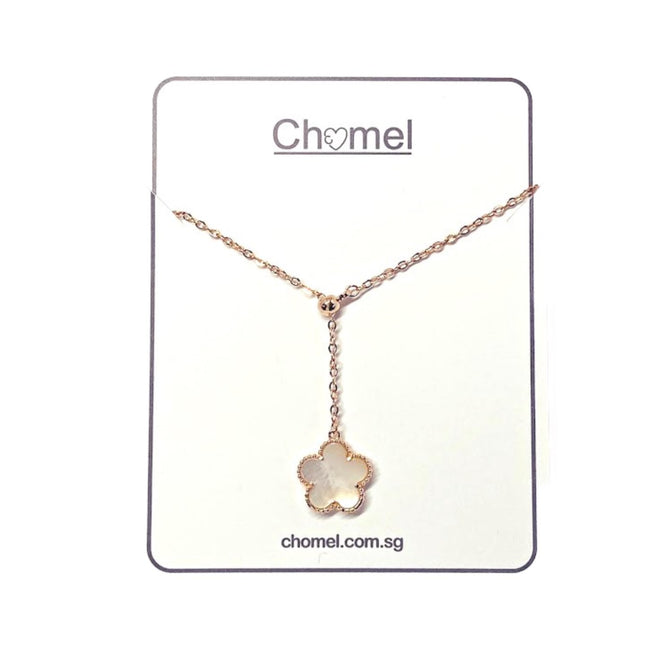 Flower Mother of Pearl Necklace - CHOMEL