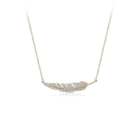 Shell Cubic Zirconia Necklace