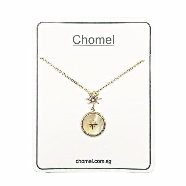 Stardust Mother of Pearl  Necklace - CHOMEL