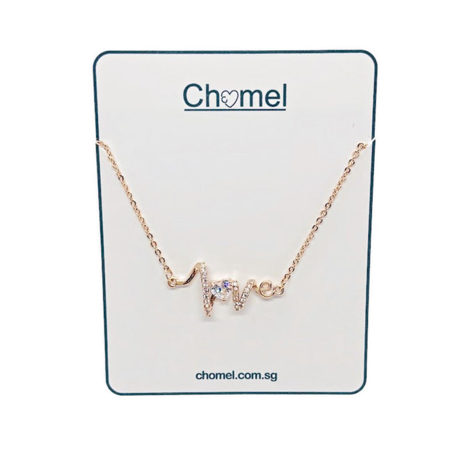 Love Cubic Zirconia Necklace