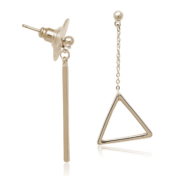 Rose Gold Mismatch Earring - CHOMEL