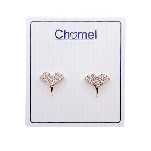 Mermaid Tail Cubic Zirconia Earrings