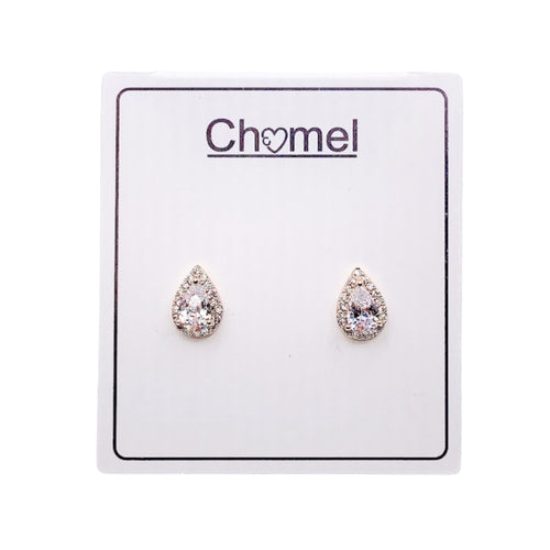 Cubic Zirconia Earrings - CHOMEL