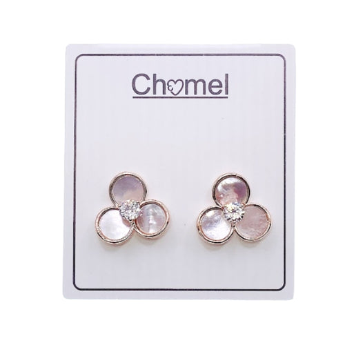 Flower Mother of Pearl Earrings - CHOMEL