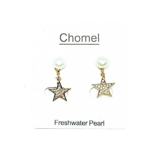 Freshwater Pearl Clip Earrings - CHOMEL
