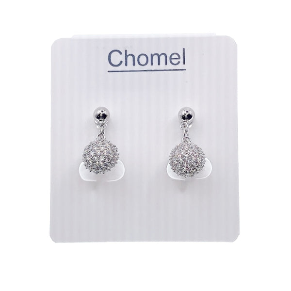 Cubic Zirconia Clip Earrings