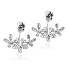 Cubic Zirconia Ear Jacket