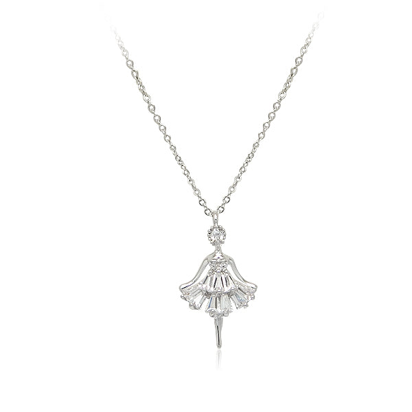 Ballerina Cubic Zirconia Necklace