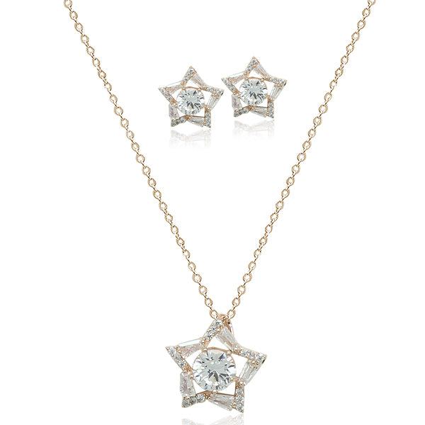 35f22490c3225 Cubic Zirconia Necklace Set
