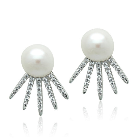 5-6mm Freshwater Pearl Stud Earrings