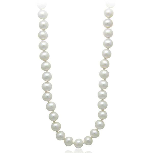 "8-9mm Freshwater 20"" Pearl Necklace"