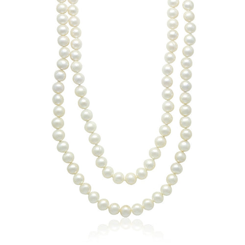 "8-9mm Cultured Freshwater 36"" Pearl Necklace"