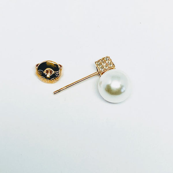 Simulated Pearl Earrings - CHOMEL