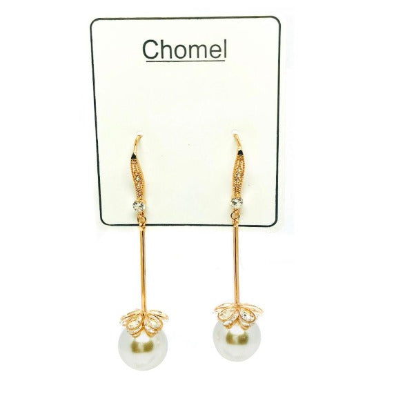 Pearl Drop Earrings - CHOMEL