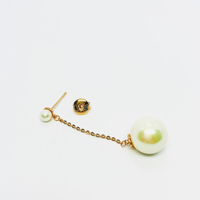 Pearl Drop Long Earrings