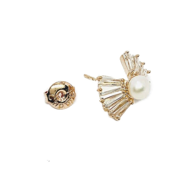 Freshwater Pearl Earrings - CHOMEL