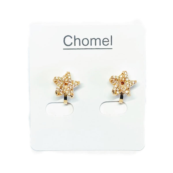 Star Cubic Zirconia Earrings - CHOMEL