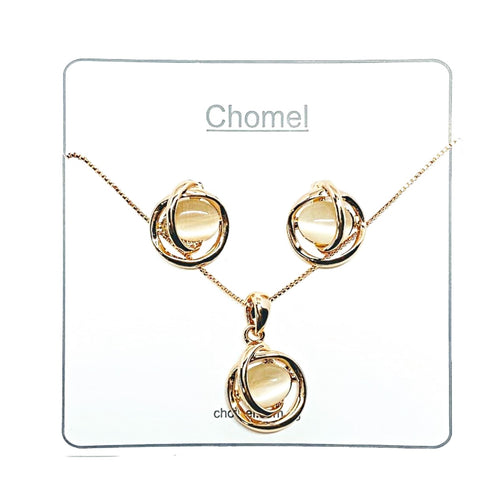Simulated Moonstone Set - CHOMEL