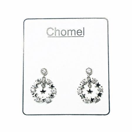 Butterfly Cubic Zirconia  Earrings