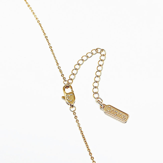 Pearl on chain Necklace - CHOMEL