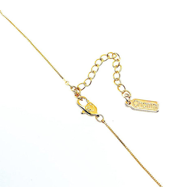 Peanut Cubic Zirconia Necklace