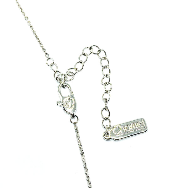 Moon & Star Cubic Zirconia Necklace - CHOMEL