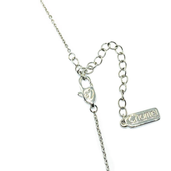Round Cubic Zirconia Necklace