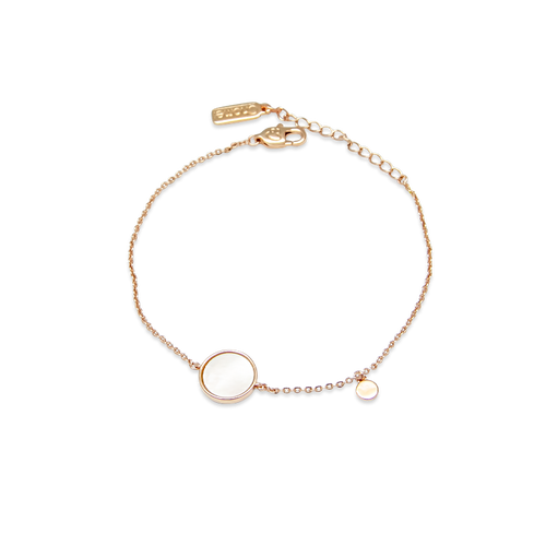 Round Mother of Pearl Bracelet