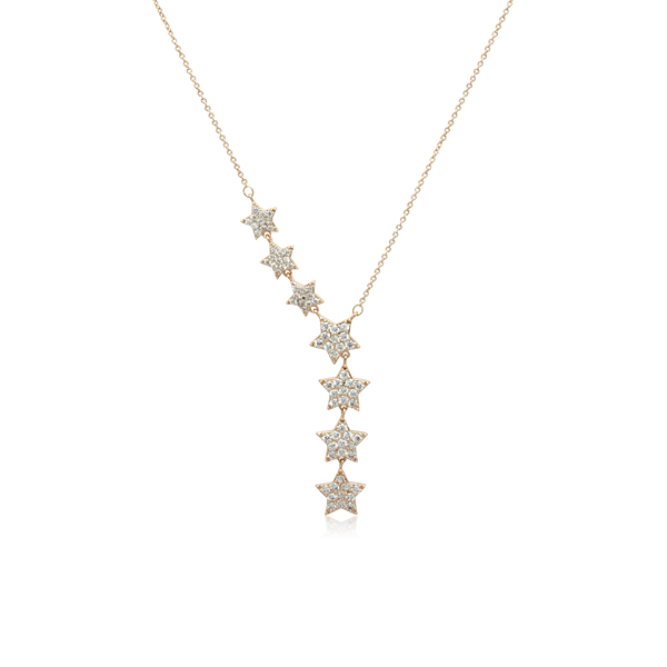 7 Stars Cubic Zirconia Necklace - CHOMEL