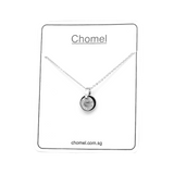 Ring Cubic Zirconia Necklace - CHOMEL