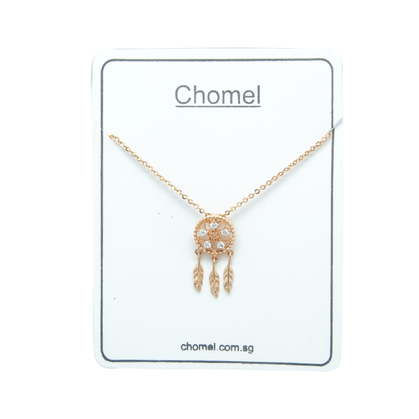 Dream Catcher Cubic Zirconia Necklace - CHOMEL