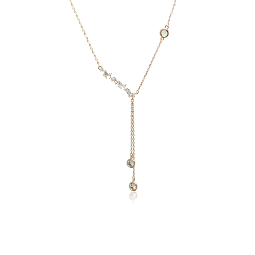 Cubic Zirconia Necklace - CHOMEL