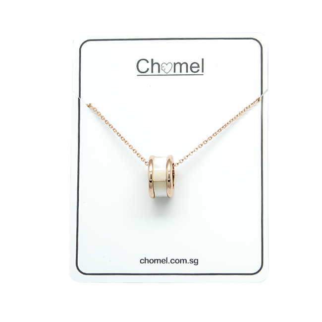 Tunnel Mother of Pearl Necklace