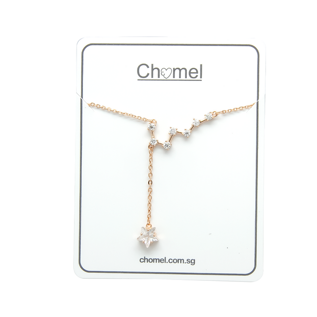 Star Cubic Zirconia Necklace - CHOMEL