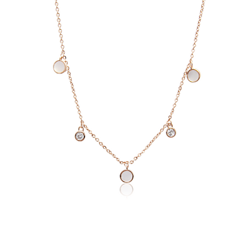 Mother of Pearl Necklace - CHOMEL