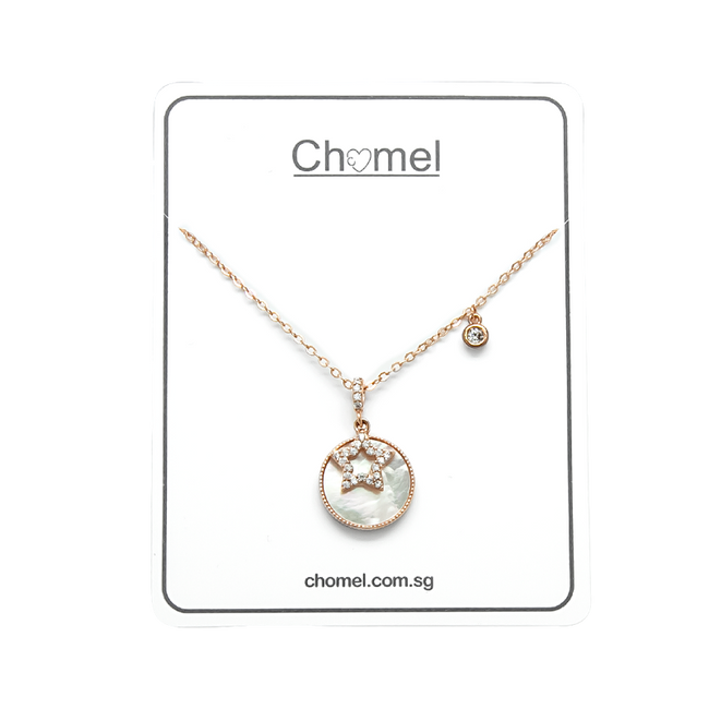 Star Mother of Pearl Necklace - CHOMEL