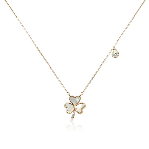 Clover Mother of Pearl Necklace