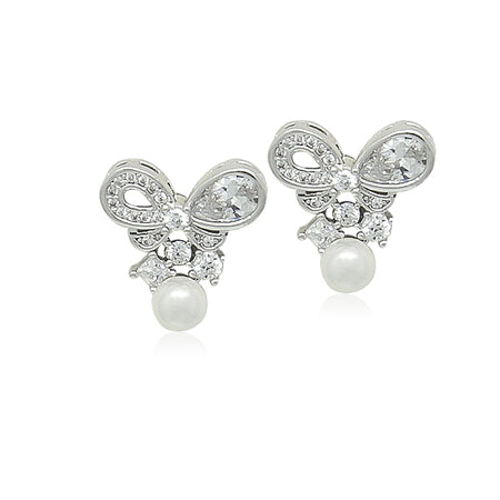 7.5-8mm Freshwater Pearl Drop Earrings