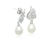Freshwater Pearl  Drop Earrings - CHOMEL