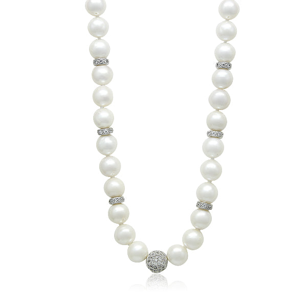 "8-9mm Freshwater Pearl 16"" Necklace"
