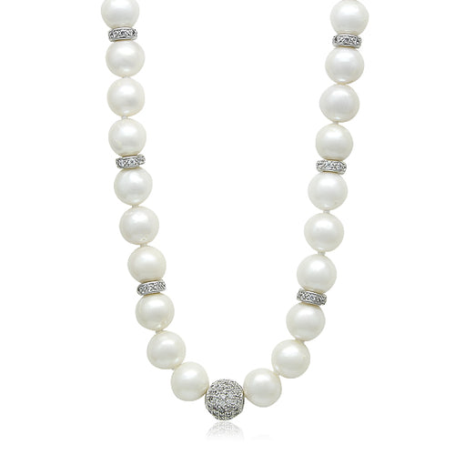 "9-10mm Freshwater Pearl 18"" Necklace"