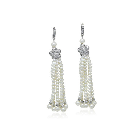 """Botanical Collection"" Crystal Earrings"