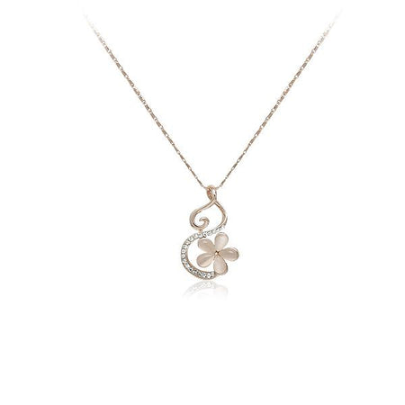 Cubic Zirconia Pendant Necklace