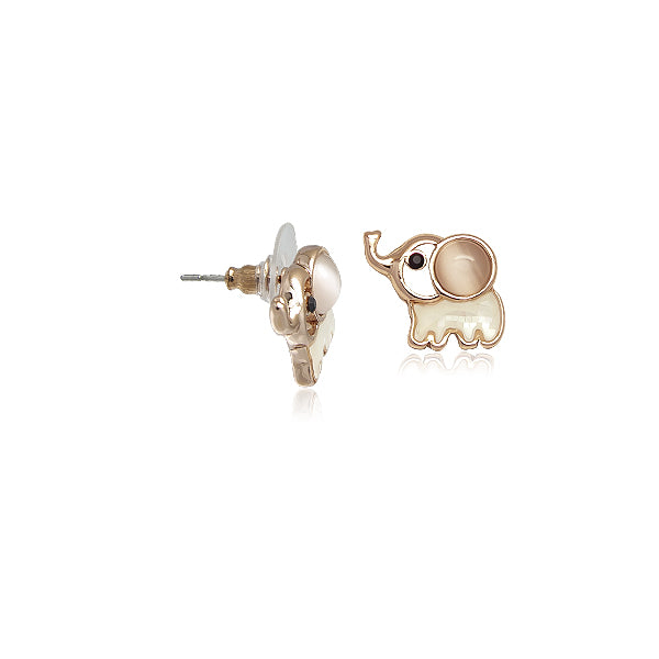 Elephant Moonstone Earrings