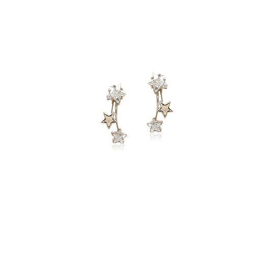 Cubic Zirconia Drop Earrings - CHOMEL