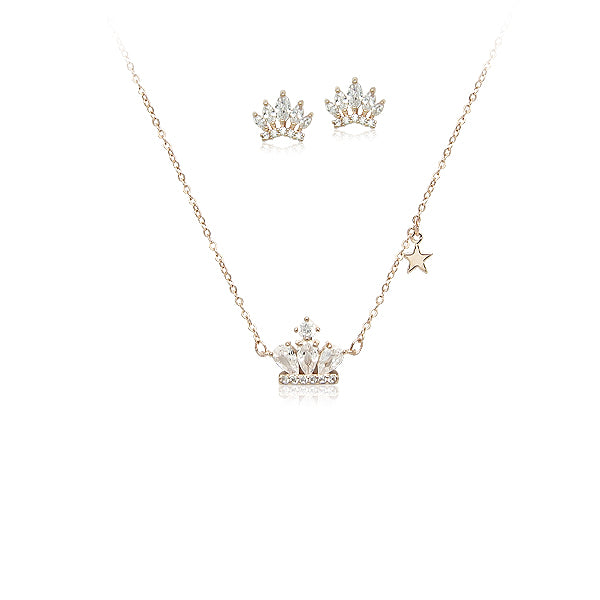 Crown Cubic Zirconia Set - CHOMEL