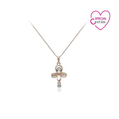 Special Buy Simulated Moonstone Pendant Necklace