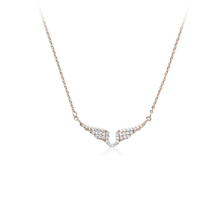 Heart Mother of Pearl with Cubic Zirconia Pendant Necklace