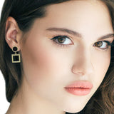 Metallic Mismatch Drop Earring - CHOMEL