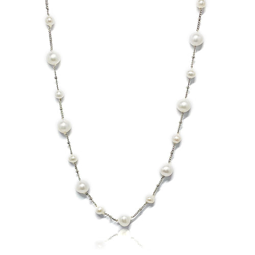 Freshwater Pearl Short Chain Necklace